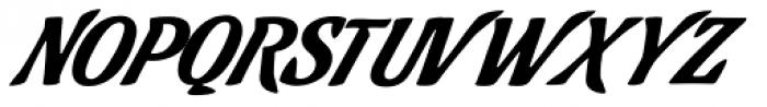 Cafelatte Font UPPERCASE