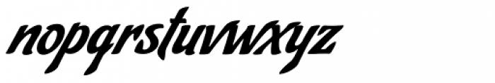 Cafelatte Font LOWERCASE