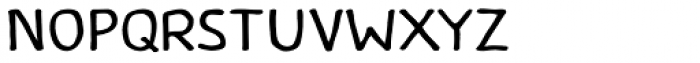 Caffeine Font UPPERCASE
