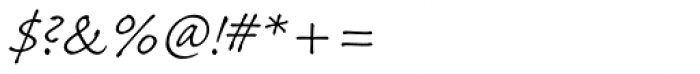 Caflisch Script Pro Light Font OTHER CHARS