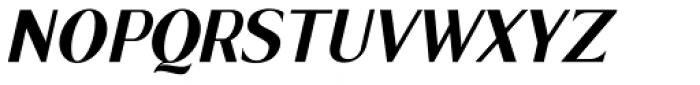 Cagile Italic Font UPPERCASE