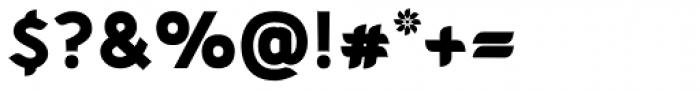 Cajito extrabold Font OTHER CHARS