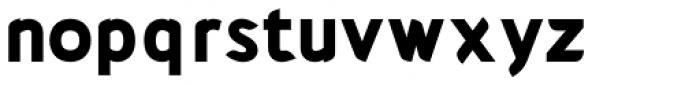 Cajito extrabold Font LOWERCASE