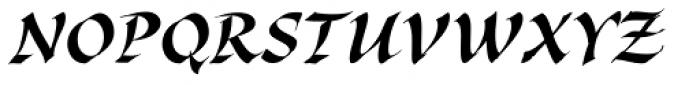 Cal Bakerly Font UPPERCASE