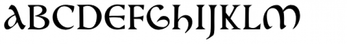 Cal Beneventan Minuscule Font UPPERCASE
