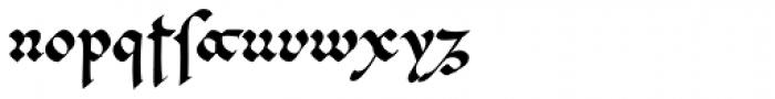 Cal Beneventan Minuscule Font LOWERCASE