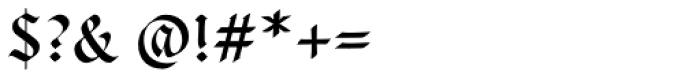 Cal Carolingian Gothic Font OTHER CHARS