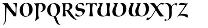 Cal Carolingian Gothic Font UPPERCASE