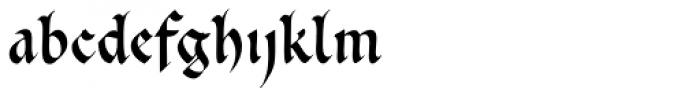 Cal Carolingian Gothic Font LOWERCASE