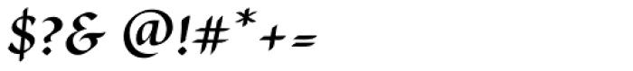 Cal Carolingian Minuscule Font OTHER CHARS