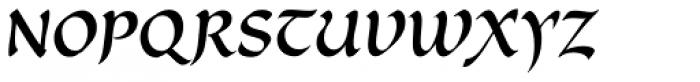 Cal Carolingian Minuscule Font UPPERCASE