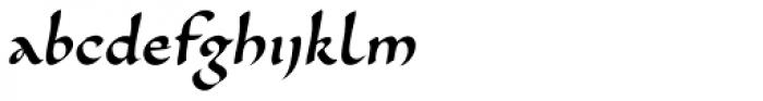 Cal Carolingian Minuscule Font LOWERCASE