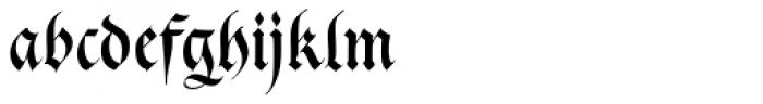 Cal Gothic Fraktur Font LOWERCASE
