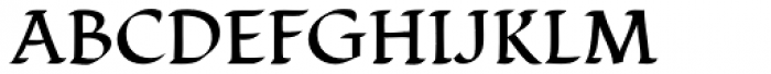 Cal Humanist Minuscule Font UPPERCASE