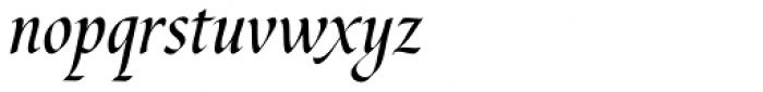 Cal Humanistic Cursive Font LOWERCASE