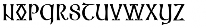 Cal Insular Majuscule Font UPPERCASE