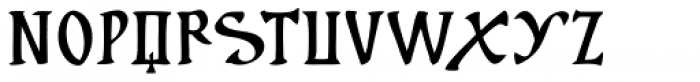Cal Insular Minuscule Font UPPERCASE