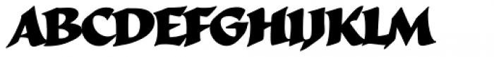 Cal Roman Black Regular Font LOWERCASE