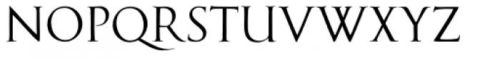 Cal Roman Capitals Font UPPERCASE