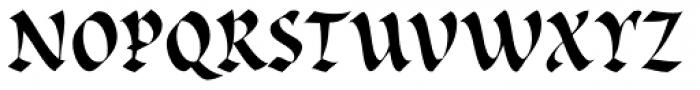 Cal Rustic Black Font UPPERCASE