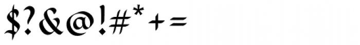 Cal Rustic Capitals Font OTHER CHARS