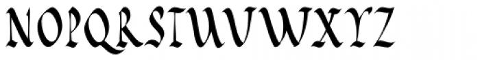 Cal Rustic Capitals Font UPPERCASE