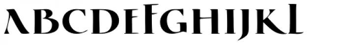 Cal Square Capitals Font UPPERCASE