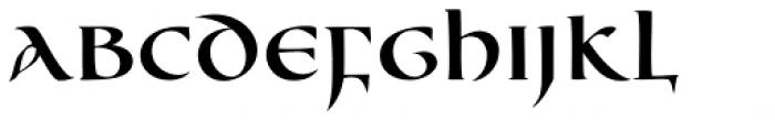 Cal Uncial Font UPPERCASE