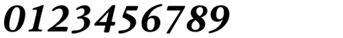 Cala Bold Italic Font OTHER CHARS