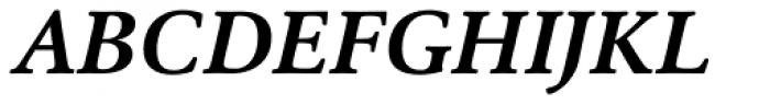 Cala Bold Italic Font UPPERCASE