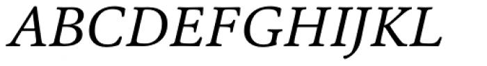 Cala Italic Font UPPERCASE