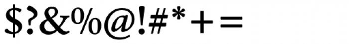 Cala Medium Font OTHER CHARS