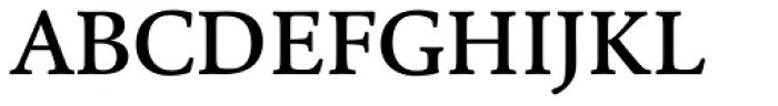 Cala Medium Font UPPERCASE