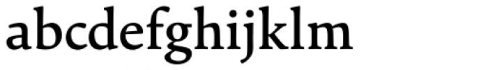Cala Medium Font LOWERCASE