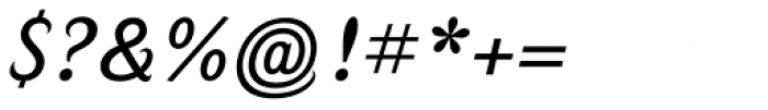 Calafati Pro Light Font OTHER CHARS