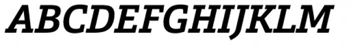 Calanda Bold Italic Font UPPERCASE