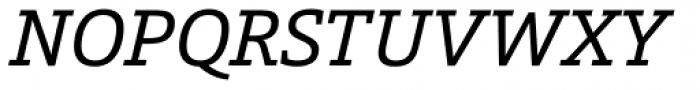Calanda Italic Font UPPERCASE