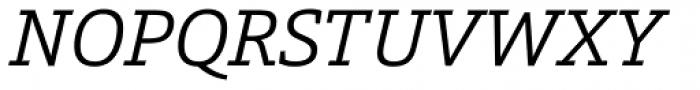 Calanda Light Italic Font UPPERCASE