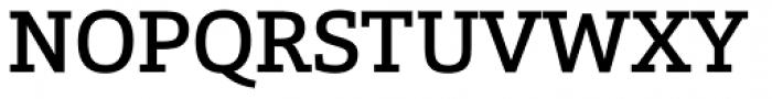Calanda Medium Font UPPERCASE