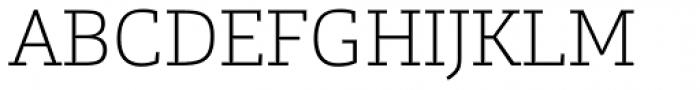 Calanda Thin Font UPPERCASE