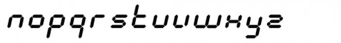 Calculus Oblique Font LOWERCASE