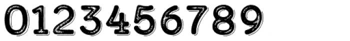 Calder Dark Grit Shadow Font OTHER CHARS