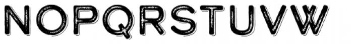 Calder Dark Grit Shadow Font LOWERCASE