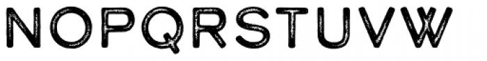 Calder Dark Grit Font LOWERCASE