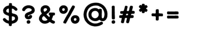 Calder Dark Font OTHER CHARS