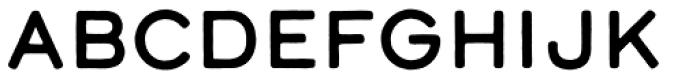 Calder Dark Font UPPERCASE