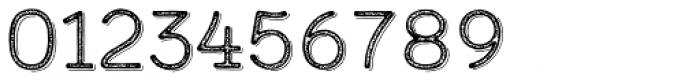 Calder Grit Shadow Font OTHER CHARS