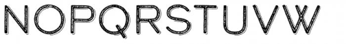 Calder Grit Shadow Font LOWERCASE