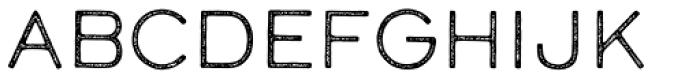 Calder LC Grit Font UPPERCASE