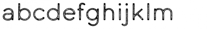 Calder LC Grit Font LOWERCASE